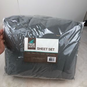 True North MicroFleece 3 Pc Twin XL SHEET SET